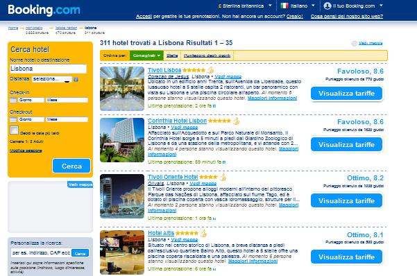 Prenota di hotel in Lisbona: la porta dell'Europa nuova