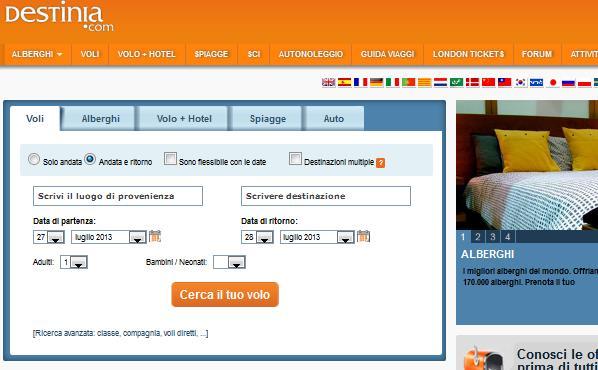 Viaggi last minute Italia: possibili mete nazionali