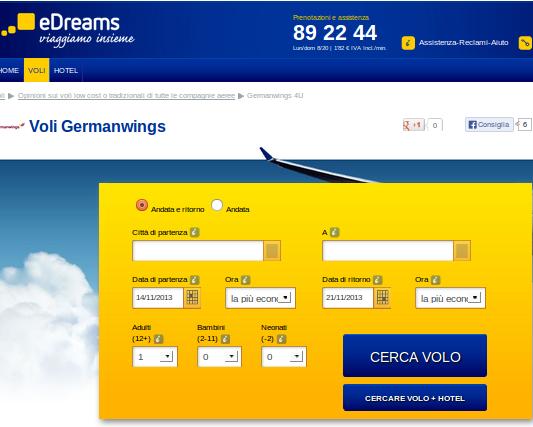 germanwings per te