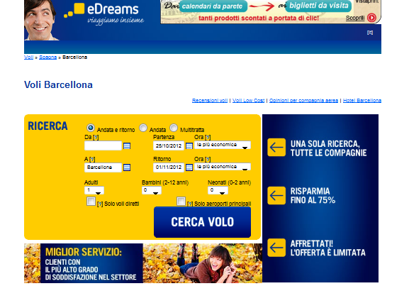 VIAGGIO BARCELLONA LOW COST