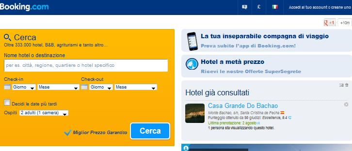 Booking appartamenti: splendida intimità vacanziera