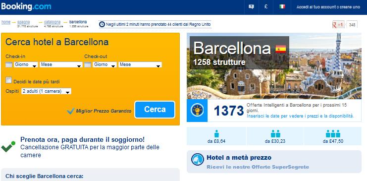 booking appartamenti