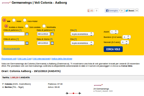 voli Germanwings