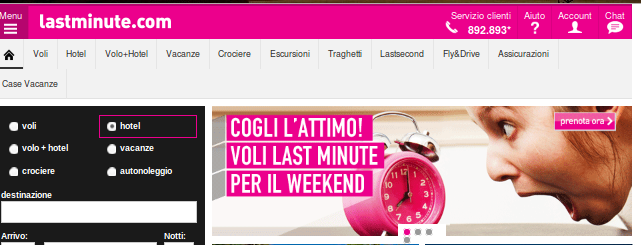 weekend last minute per te